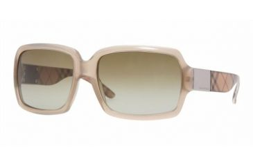 Burberry BE4076 Sunglasses, Beige Frame, Brown Gradient 316613-5616