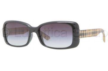 Burberry BE4087 Sunglasses 30018G-5416 - Black Gray Gradient