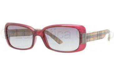 Burberry BE4087 Single Vision Prescription Sunglasses BE4087-301411-5416 - Lens Diameter 54 mm, Frame Color Oxblood