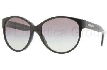 Burberry BE4088A Sunglasses 300111-5716 - Shiny Black Gray Gradient