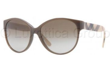 Burberry BE4088M Bifocal Prescription Sunglasses BE4088M-323713-5716 - Lens Diameter 57 mm, Frame Color Brown