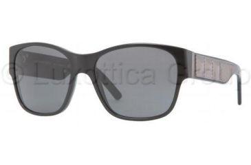 Burberry BE4104 Sunglasses 300187-5516 - Shiny Black Gray
