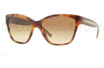 Burberry BE4109 Bifocal Prescription Sunglasses BE4109-32842L-5716 - Lens Diameter 57 mm, Frame Color Havana