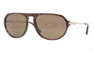 Burberry BE4116 Sunglasses 300273-5918 - Dark Havana Frame, Brown Lenses