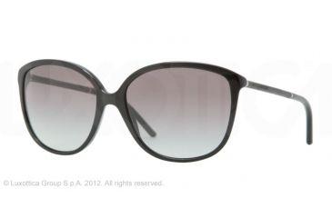 Burberry BE4118Q Progressive Prescription Sunglasses BE4118Q-3001T3-59 - Lens Diameter 59 mm, Frame Color Black
