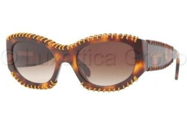 Burberry BE4120Q Bifocal Prescription Sunglasses BE4120Q-331613-5420 - Lens Diameter 54 mm, Frame Color Dark Havana