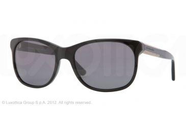 Burberry BE4123 Bifocal Prescription Sunglasses BE4123-300181-57 - Lens Diameter 57 mm, Frame Color Black