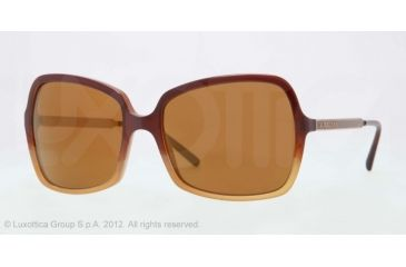 Burberry BE4127 Bifocal Prescription Sunglasses BE4127-33696H-57 - Lens Diameter 57 mm, Frame Color Brown Gradient Hazelnut