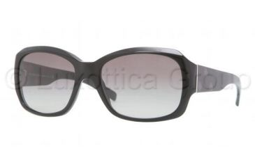 Burberry BE4129 Single Vision Prescription Sunglasses BE4129-300111-5617 - Lens Diameter 56 mm, Frame Color Black