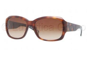 Burberry BE4129 Single Vision Prescription Sunglasses BE4129-331613-5617 - Lens Diameter 56 mm, Frame Color Havana