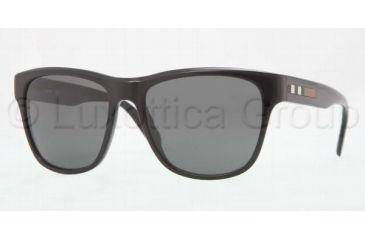 Burberry BE4131 Sunglasses 300187-5617 - Black Frame, Gray Lenses