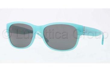 Burberry BE4135 Progressive Prescription Sunglasses BE4135-337587-5818 - Lens Diameter 58 mm, Frame Color Turquoise