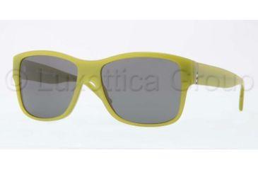 Burberry BE4136 Single Vision Prescription Sunglasses BE4136-337487-5616 - Lens Diameter 56 mm, Frame Color Turqoise