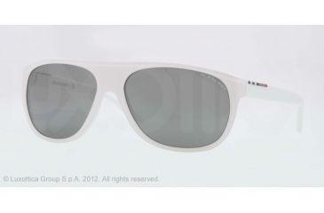 Burberry BE4143 Single Vision Prescription Sunglasses BE4143-33946G-58 - Lens Diameter 58 mm, Lens Diameter 58 mm, Frame Color Top Transp/white