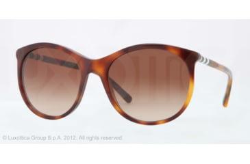 Burberry BE4145 Progressive Prescription Sunglasses BE4145-331613-55 - Lens Diameter 55 mm, Lens Diameter 55 mm, Frame Color Havana