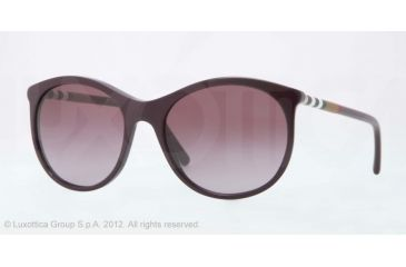 Burberry BE4145 Progressive Prescription Sunglasses BE4145-34008H-55 - Lens Diameter 55 mm, Lens Diameter 55 mm, Frame Color Violet