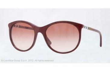 Burberry BE4145 Progressive Prescription Sunglasses BE4145-340313-55 - Lens Diameter 55 mm, Lens Diameter 55 mm, Frame Color Bordeaux