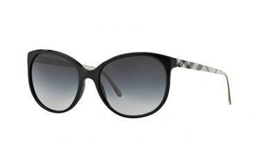75756e58485 Burberry BE4146 Sunglasses 34068G-55 - Black Frame