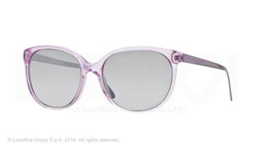 Burberry BE4146 Single Vision Prescription Sunglasses BE4146-34816V-55 - Lens Diameter 55 mm, Frame Color Lilac