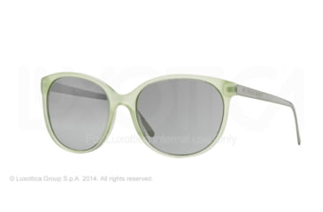Burberry BE4146 Single Vision Prescription Sunglasses BE4146-34856V-55 - Lens Diameter 55 mm, Frame Color Green