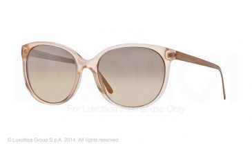 Burberry BE4146 Single Vision Prescription Sunglasses BE4146-34863D-55 - Lens Diameter 55 mm, Frame Color Pink