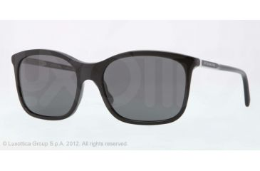 Burberry BE4147 Single Vision Prescription Sunglasses BE4147-300187-57 - Lens Diameter 57 mm, Lens Diameter 57 mm, Frame Color Black