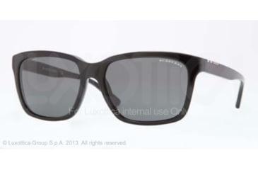 Burberry BE4150 Progressive Prescription Sunglasses BE4150-300187-58 - Lens Diameter 58 mm, Frame Color Black