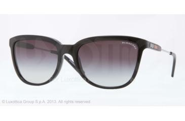 Burberry BE4152 Progressive Prescription Sunglasses BE4152-30018G-57 - Lens Diameter 57 mm, Frame Color Black