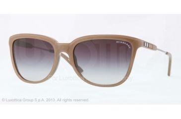 Burberry BE4152 Progressive Prescription Sunglasses BE4152-34238G-57 - Lens Diameter 57 mm, Frame Color Top Trasparent/brown