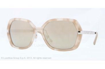 Burberry BE4153Q Progressive Prescription Sunglasses BE4153Q-34275A-58 - Lens Diameter 58 mm, Frame Color Beige Havana