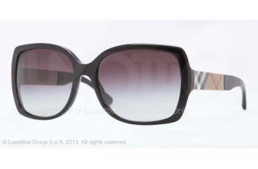Burberry BE4160 Sunglasses 34338G-58 - Black Frame, Grey Gradient Lenses