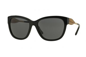 fea42c65415 Burberry BE4203F Sunglasses 300187-57 - Black Frame