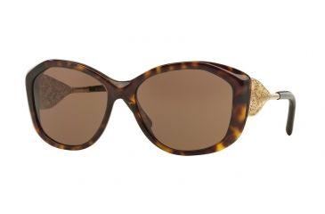 9f2ec5468f0 Burberry BE4208Q Sunglasses 300273-57 - Dark Havana Frame