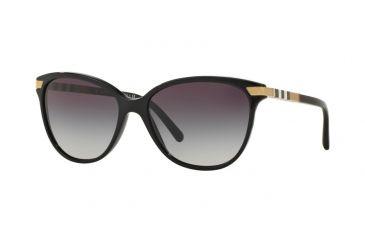 dc15ba93527 Burberry BE4216F Sunglasses 30018G-57 - Black Frame