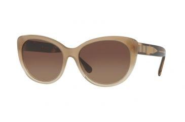 e4df7cbbdda Burberry BE4224 Single Vision Prescription Sunglasses BE4224-335413-56 -  Lens Diameter 56 mm