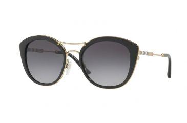 1515c49c9bd678 Burberry BE4251Q Sunglasses 3001T3-53 - Black Frame