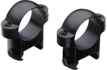 Burris Rifle Scope 1'' Zee Solid Steel Rings ( fits Weaver-style Bases )