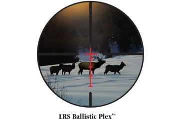 Burris Illuminated LRS Ballistic Plex Lighted Reticle