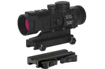 Burris AR-332 3x-32mm Tube Tactical Prism Red Dot Sight, w/ Burris AR-QD Quick Detachable Mount 410349