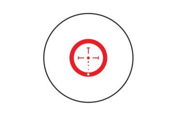 8-Burris AR-536 5X - 36mm Prism Sight & Free FastFire 3 Red Dot Sight