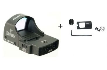 Burris FastFire II 4 MOA Red Dot Reflex Sight w/ Burris FastFire Mounting Plate for Ruger