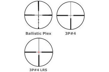 Burris Six X Riflescope Reticles
