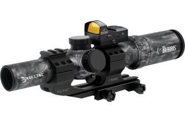 Burris Skull-TAC 1x-4x-24mm Illuminated Riflescope w/ Ballistic CQ 5.56 Reticle 200438-FF