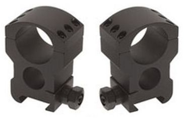 Burris Xtreme Tactical 34mm Diameter Riflescope Rings, Pair, Extra High, 1in High, 6x4 420193