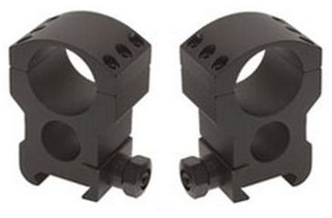 Burris Xtreme Tactical 34mm Diameter Riflescope Rings, Pair, Extra High, 1in High, 6x6 420192