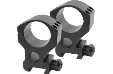 Burris Xtreme Tactical 1in Matte Black XHigh 1in Height - Two Rings 420183
