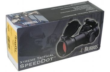 Burris Xtreme Tactical SpeedDot Red Dot Sight 300205 - package
