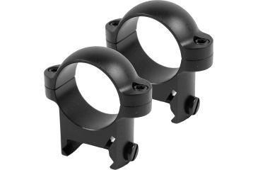 Burris Zee 1in Steel Riflescope Rings Rings - Medium, Black Matte 420084