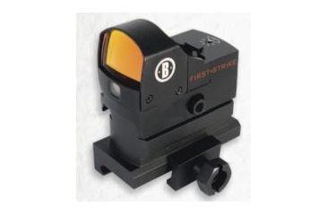 Bushnell AR Optics First Strike, 5 MOA Reflex Red Dot Sight w/ Hi-Rise Mount, Clam AR730005C