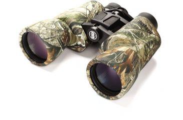 Bushnell Powerview 10x50mm Porro Prism Binoculars, Real Tree AP 131055